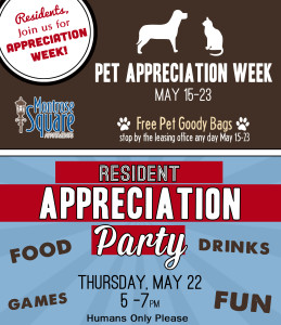 Appreciation Week at Montrose Square Apartments Fort Wayne
