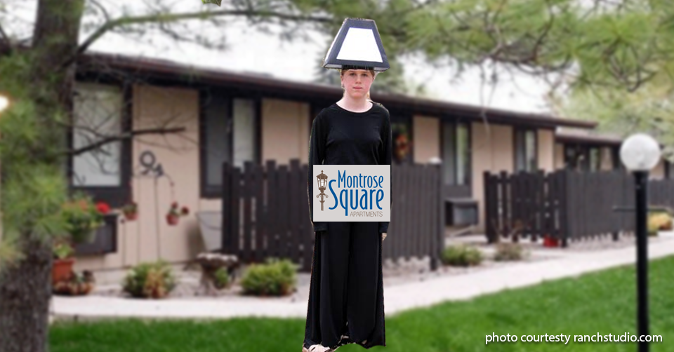 lamp post costume