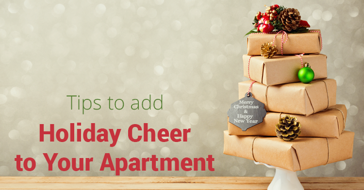 how to decorate apartment for christmas